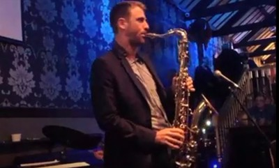 Julien Alenda at The Be-bop Club in Bristol