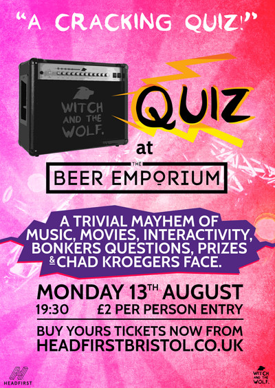 QUIZ at The Beer Emporium at The Beer Emporium in Bristol