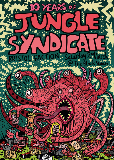 10 Years of Jungle Syndicate feat. Luke Vibert at The Black Swan in Bristol