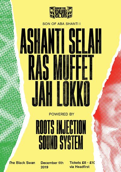 Bristol Dub Club w/ Ashanti Selah • Muffet • Lokko at The Black Swan in Bristol
