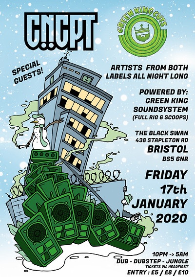 CNCPT X Green King Cuts : UNITY Session at The Black Swan in Bristol