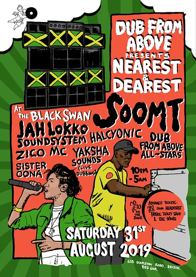 Dub From Above Present: Nearest & Dearest at The Black Swan in Bristol