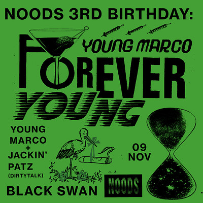 Noods 3rd Birthday: Young Marco & Jackin' Patz at The Black Swan in Bristol
