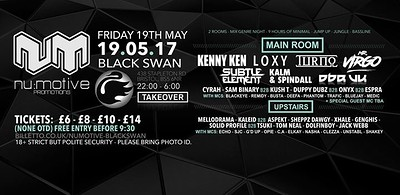 Nu:Motive / Black Swan Takeover at The Black Swan in Bristol