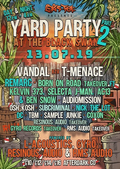 Yard Party No.2 - Day & Night Event at The Black Swan in Bristol