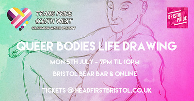 Queer Bodies Life Drawing at The Bristol Bear Bar in Bristol
