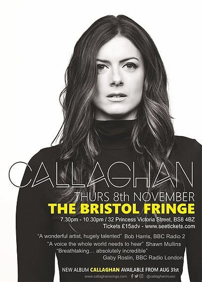 Callaghan Live  at The Bristol Fringe in Bristol