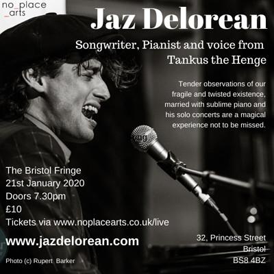 Jaz Delorean [Tankus the Henge] Solo at The Bristol Fringe in Bristol