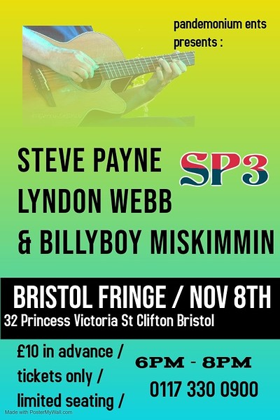 Steve Payne and Friends  at The Bristol Fringe in Bristol