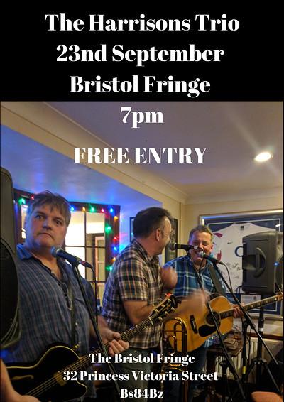 The Harrisons Trio  at The Bristol Fringe in Bristol