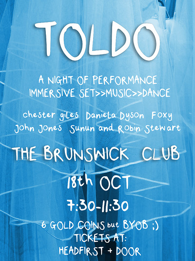 TOLDO at The Brunswick Club in Bristol