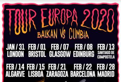Balkan Vs Cumbia: Insultanes & DJ Gypsy Box  at The Canteen in Bristol