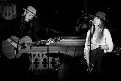 Robbie Cavanagh and Demi Marriner at The Canteen in Bristol