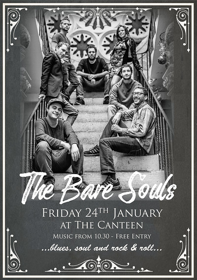 The Bare Souls at The Canteen at The Canteen in Bristol