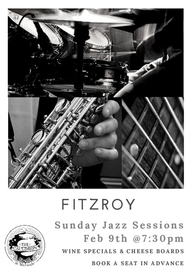 Sunday Jazz Sessions at The Cauldron Restaurant in Bristol