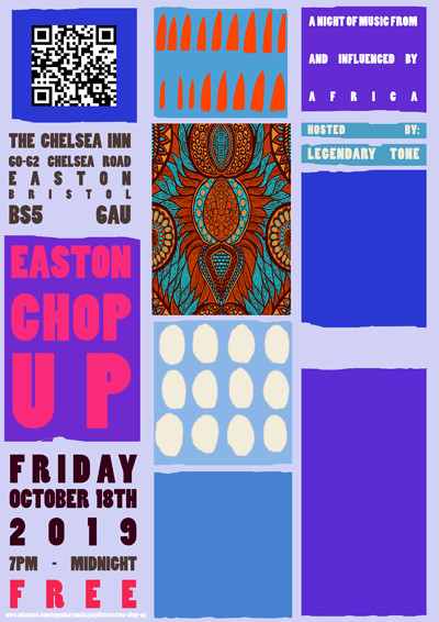 Easton Chop Up! at The Chelsea Inn, Easton in Bristol