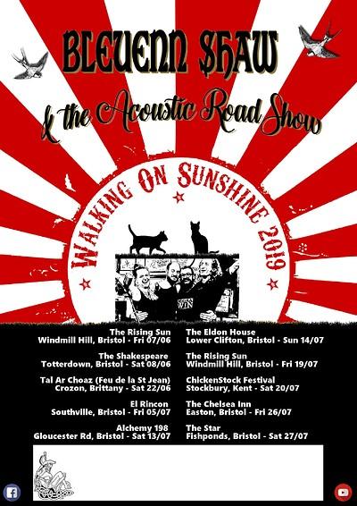 Bleuenn Shaw & The Acoustic RoadShow @ The Chelsea at The Chelsea Inn in Bristol