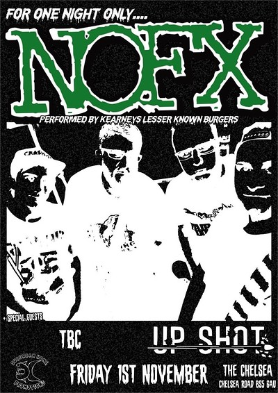 Halloween Hangover Party with NOFX covers and more at The chelsea Inn in Bristol