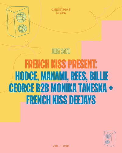 French Kiss Free Party at The Christmas Steps in Bristol