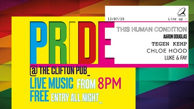 Pride @ The Clifton  at The Clifton Pub  in Bristol