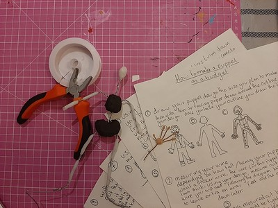 Beginners Stop Motion Puppet Making Workshop at The Cloak and Dagger, 182-184 Cheltenham Road, Bristol, BS65RB in Bristol