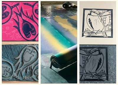 Lino Printing Workshop at The Cloak and Dagger, 182-184 Cheltenham Road, Bristol, BS65RB in Bristol