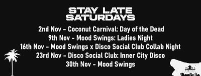 MoodSwings - Ladies Night at The Coconut Tree, Bristol Triangle in Bristol