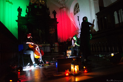 Dead Space Chamber Music debut album launch event at The Crypt of St John on the Wall, Bristol in Bristol