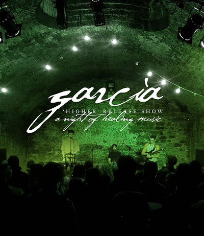 Garcia - 'Higher' Release Show, Healing Music E01. at The Crypt of St John in Bristol