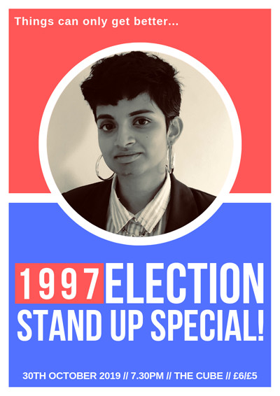 1997 Election Stand Up Special  at The Cube in Bristol