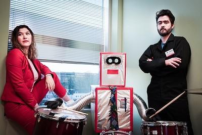 Ariel Sharratt & Mathias Kom: Never Work at The Cube in Bristol