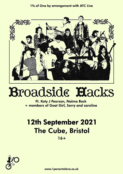Broadside Hacks at The Cube in Bristol