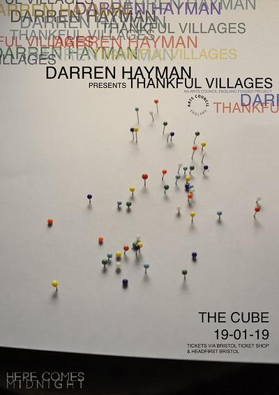 HCM// Darren Hayman: Thankful Villages at The Cube in Bristol