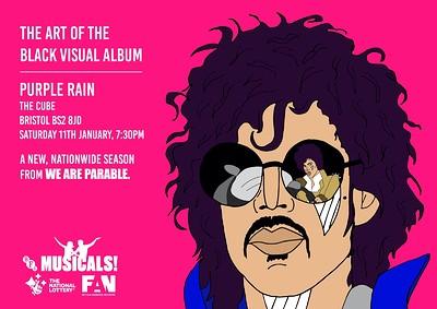 """Prince's film """"Purple Rain"""" at The Cube in Bristol"""