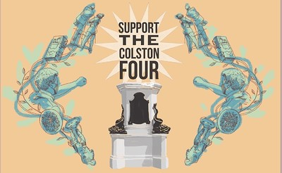 SUPPORT THE COLSTON 4 at The Cube in Bristol