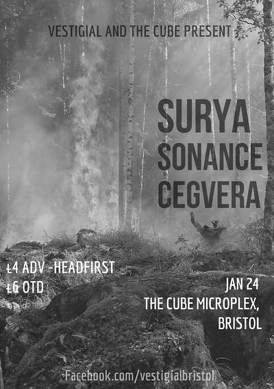 Surya//Sonance//Cegvera at The Cube in Bristol