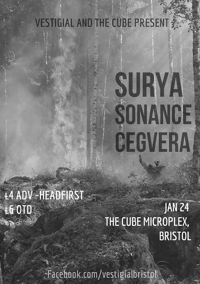 Surya//Sonance//Torpor at The Cube in Bristol