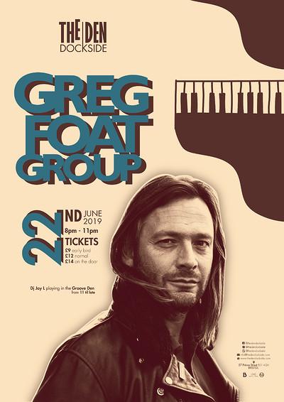 Greg Foat Group at The Den, Dockside in Bristol