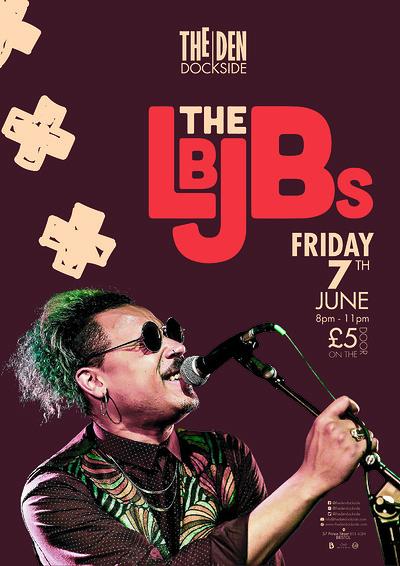 The LBJBs, at The Den - Dockside at The Den - Dockside in Bristol