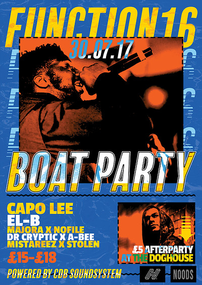 Function 16: The Boat Party at The Doghouse in Bristol