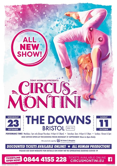 Circus Montini at The Downs in Bristol