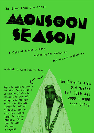 Monsoon Season at The Elmer's Arms in Bristol