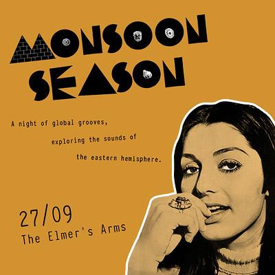 Monsoon Season at The Elmer's Arms in Bristol