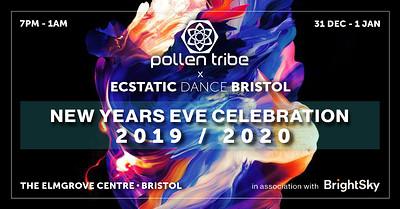 Ecstatic Dance Bristol x Pollen Tribe NYE at The Elmgrove Centre in Bristol