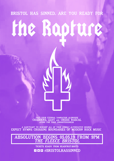 ✞ The Rapture - Chapter 1 ✞ at The Fleece in Bristol