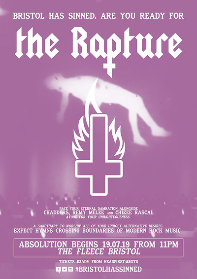 ✞ The Rapture - Chapter 2 ✞ at The Fleece in Bristol