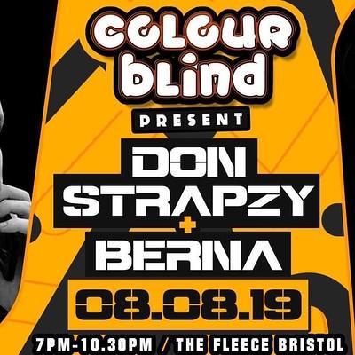 Don Strapzy & Berna  at The Fleece in Bristol