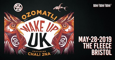 OZOMATLI & CHALI 2NA at The Fleece in Bristol
