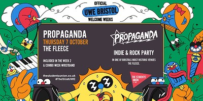 Propaganda - The Indie Rock Party at The Fleece in Bristol
