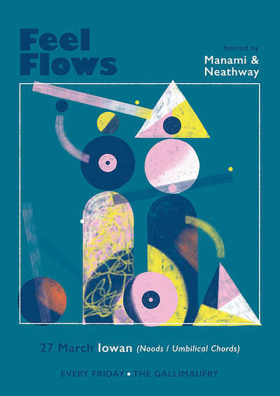 Feel Flows w/ Iowan (Noods / Umbilical Chords) at The Gallimaufry in Bristol